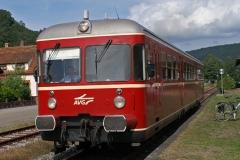 B 427, Dahn, Rheinland-Pfalz, Deutschland
